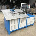 shitja e nxehtë teli automatik prej çeliku prej çeliku duke formuar cnc makine, çmimi 2d i telave të makinës