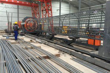 bërë në Kinë operacion të thjeshtë të qëndrueshme dhe të qëndrueshme të sigurimit të cilësisë çeliku rebar makine saldim kafaz dhe përforcuar kafaz bërë