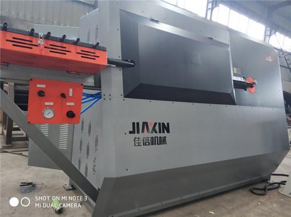makine e perkuljes ne perkul, makine e perforcimit te barit te çelikut, perforcim i makines se perkuljes se barit